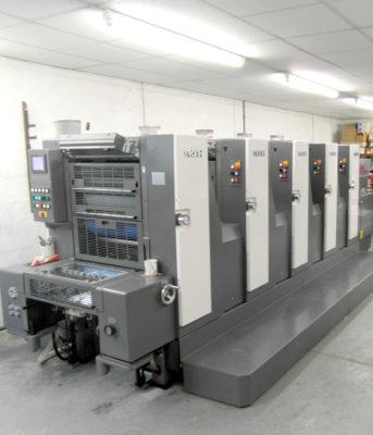New 5 colour press